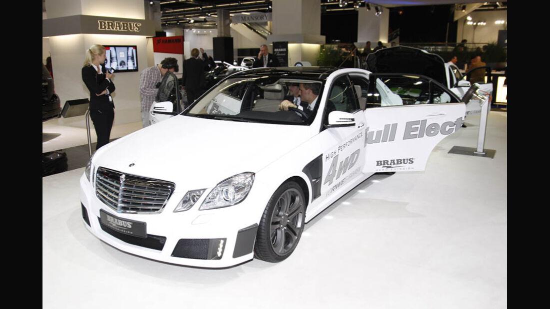 Tuner Brabus MercedesE-Klasse Full Electric IAA