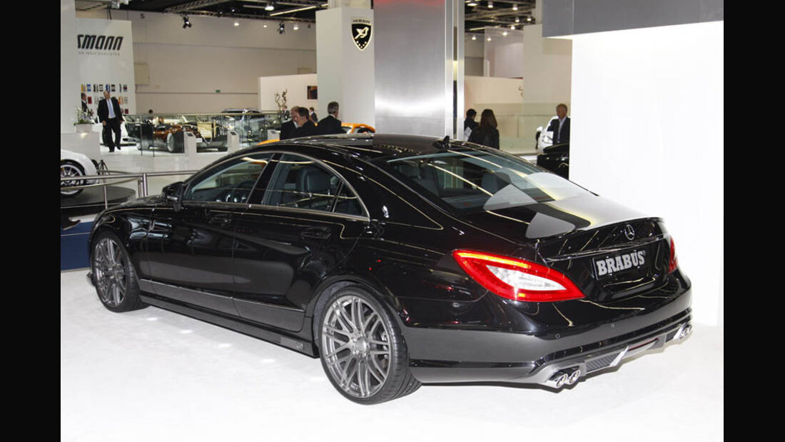 Tuner Brabus i Business 800 Mercedes S-Klasse