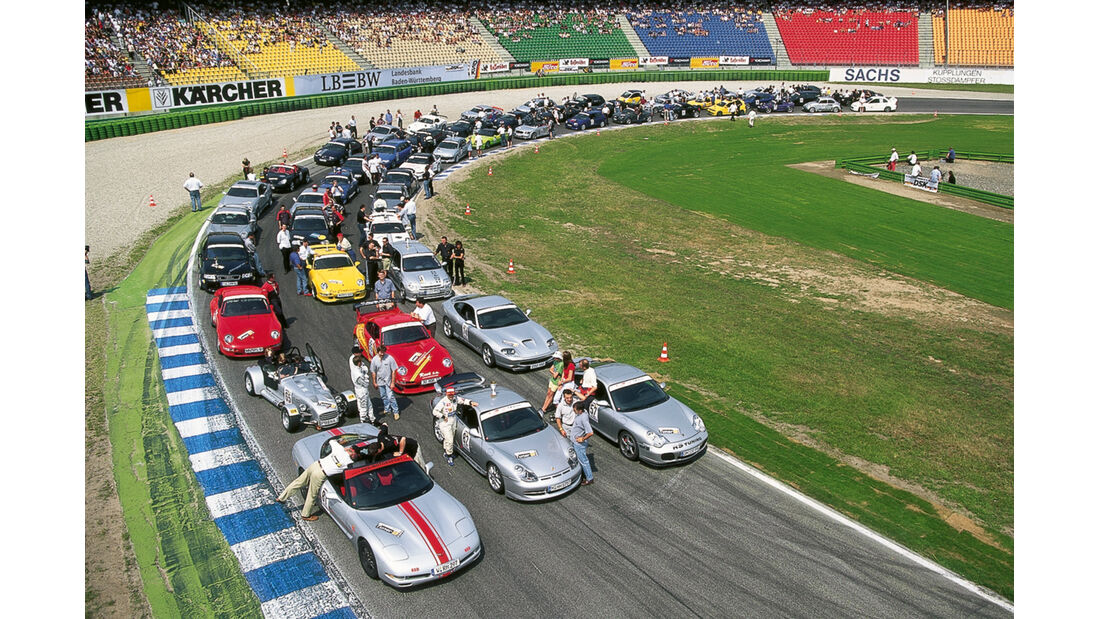 Tuner GP, Fahrerfeld, Porsche 911 Turbo