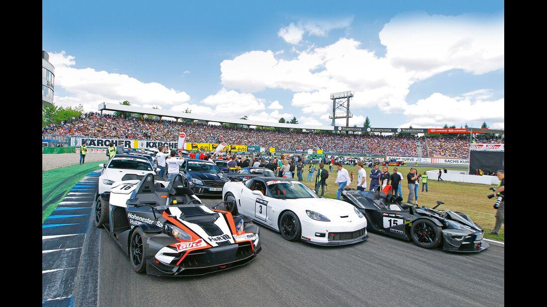 Tuner GP, Fahrerfeld, Startaufstellung