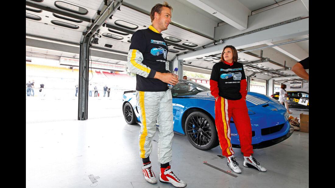 Tuner GP, Peter Tering, Katherine Legge, Box
