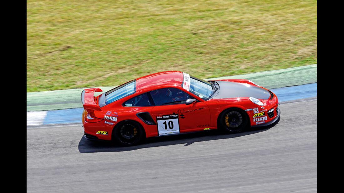 Tuner GP, Uwe Alzen, Porsche GT2 RS, H&R Rennsporttechnik