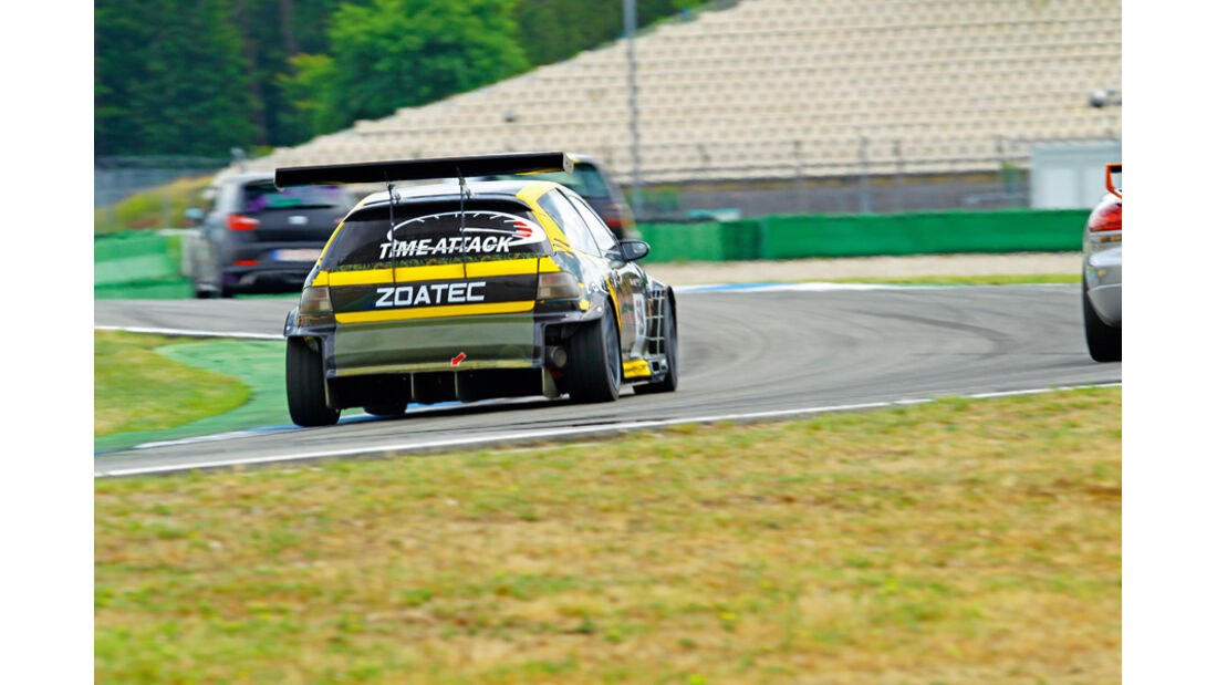 Tuner GP, zoatec-Honda Civic VTI, Heck