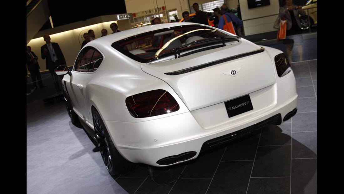 Tuner Mansory Bentley Continental GT IAA