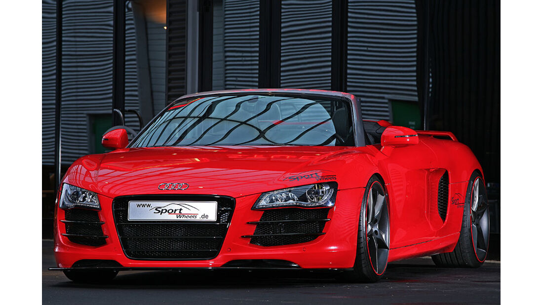 Tuner, Sport Wheels, Audi R8 Spyder