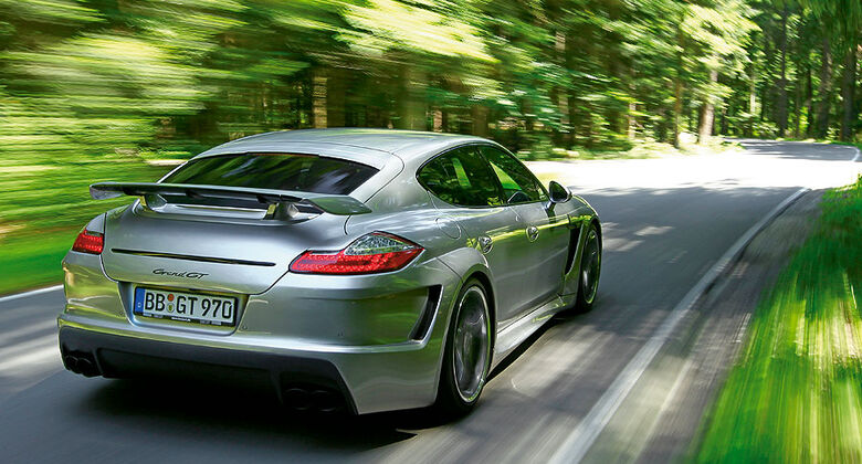 Tuner Techart GrandGT Porsche Panamera