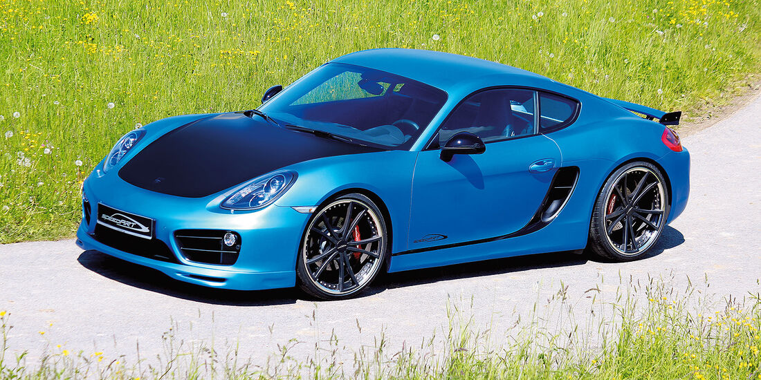 Tuner sport auto-Award 2014, Coupés bis 80.000 Euro, Speedart-Porsche SP81–CR