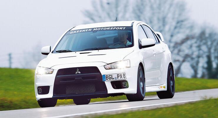 Tuner sport auto-Award 2014, Limousinen bis 80.000 Euro, Gassner-Mitsubishi hg500R