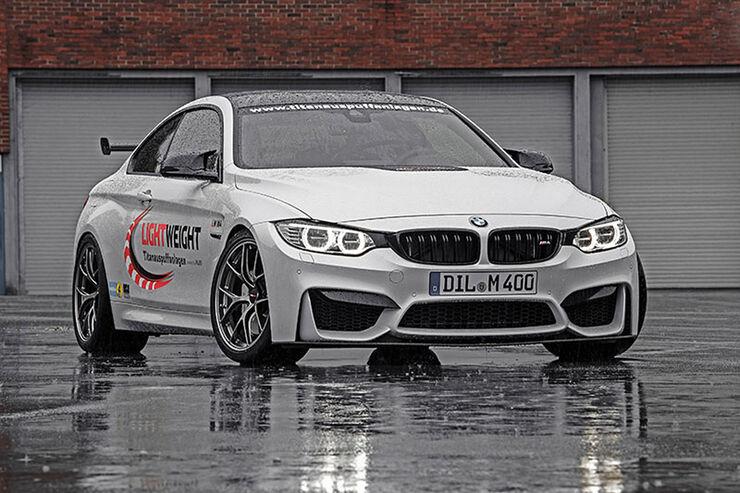 Tuning, BMW M4, Coupé, Lightweight Auspuffanlagen GmbH