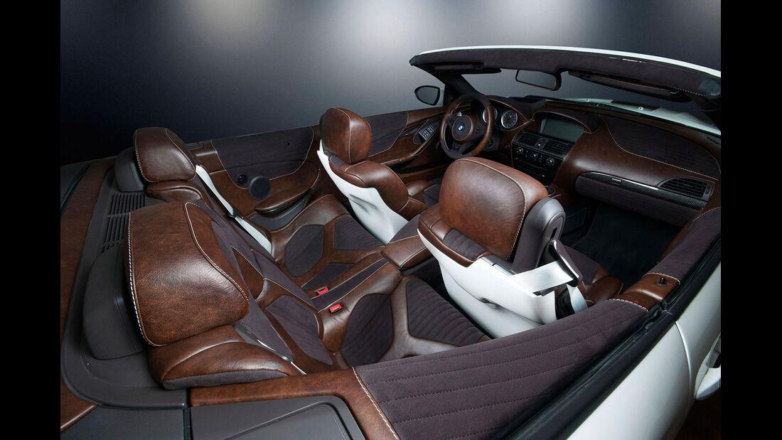 Tuning - BMW M6 Convertible von Vilner - Cabrio - Sportwagen - Innenraum
