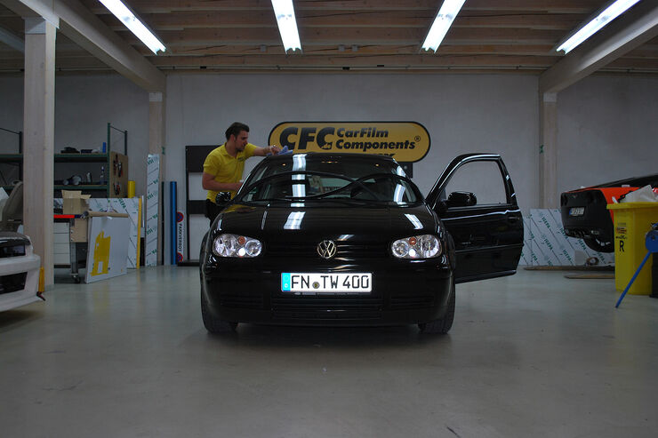 Tuning World Bodensee, Golf IV, Tuning, Folierung