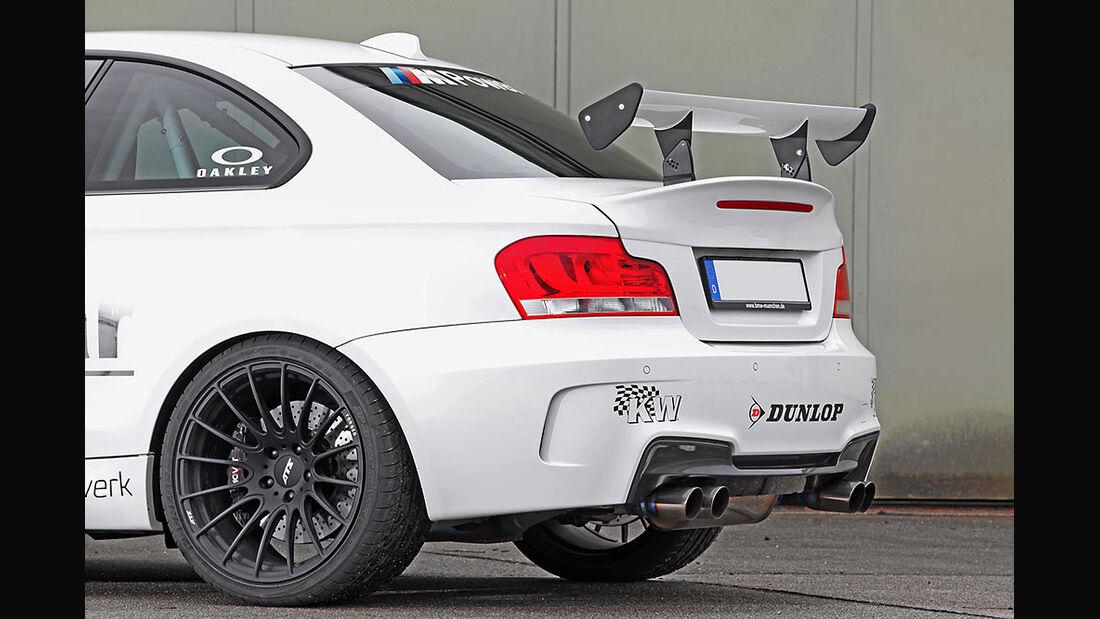 Tuningwerk BMW 1er M RS, Heck, Spoiler