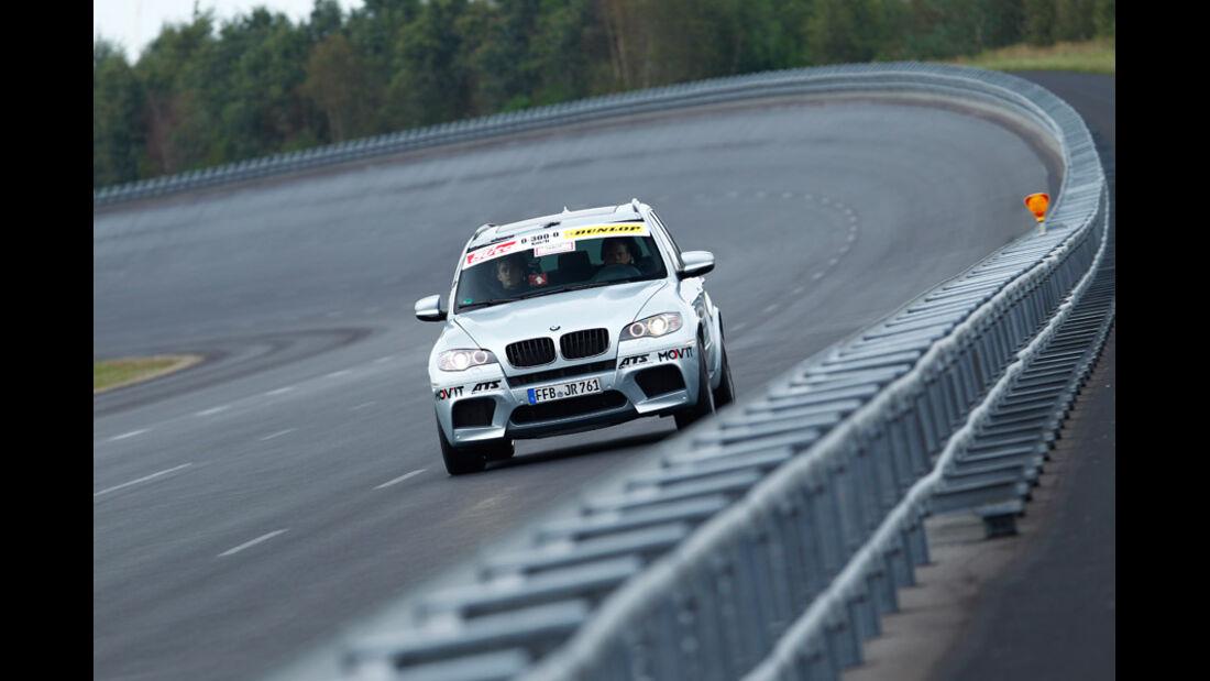 Tuningwerk BMW X5 0-300-0 Beschleunigungs- & Bremsduell