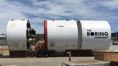 Tunnelbohrmaschine The Boring Company