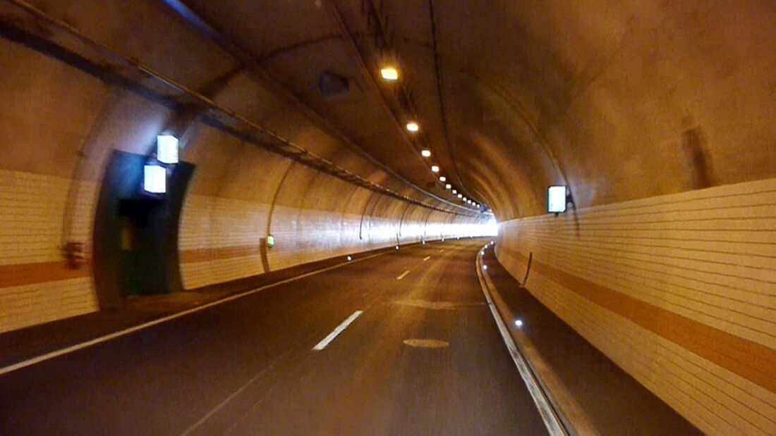 Tunnelsperrungen wegen Wartung