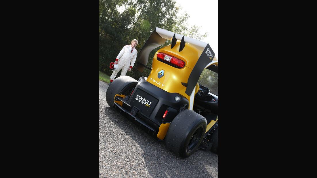 Twizy Renault Sport F1 Concept Car, Heckspoiler