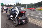 Twizy-Shuttle - Formel 1 - GP Belgien - Spa Francorchamps - 23. August 2013