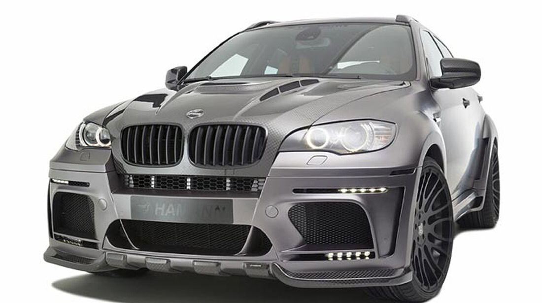 Tycoon Evo M von Hamann, auf Basis des BMW X6 M, Front
