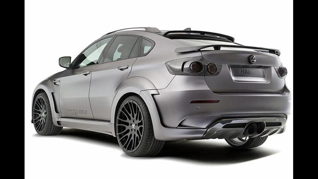 Tycoon Evo M von Hamann, auf Basis des BMW X6 M, Heck