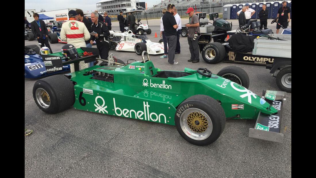 Tyrrell 011 - F1 Klassiker - Austin - GP USA 2016