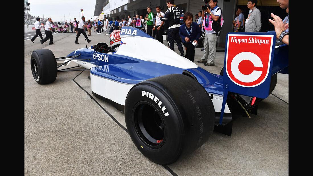 Tyrrell 019 - Kazuki Nakajima - Klassiker-Parade - GP Japan 2018