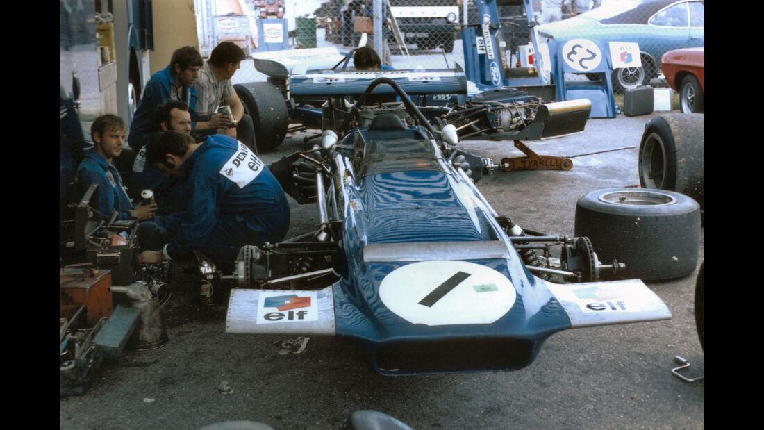 Tyrrell-Box - F1 GP Deutschland 1970 - Hockenheimring