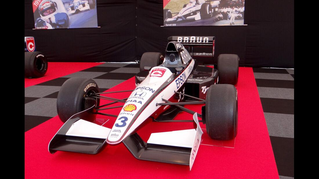 Tyrrell-Honda F1-Renner - Formel 1 - GP Japan - Suzuka - 10. Oktober 2013