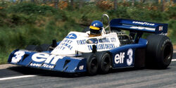 "Tyrrell P34 - Spitzname ""Tausendfüßer"""