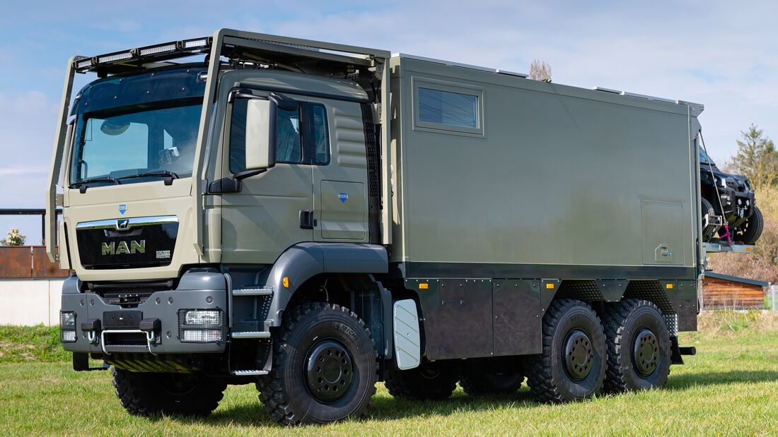 UNICAT Individual Expeditionsfahrzeug MD56c MAN TGS 6x6