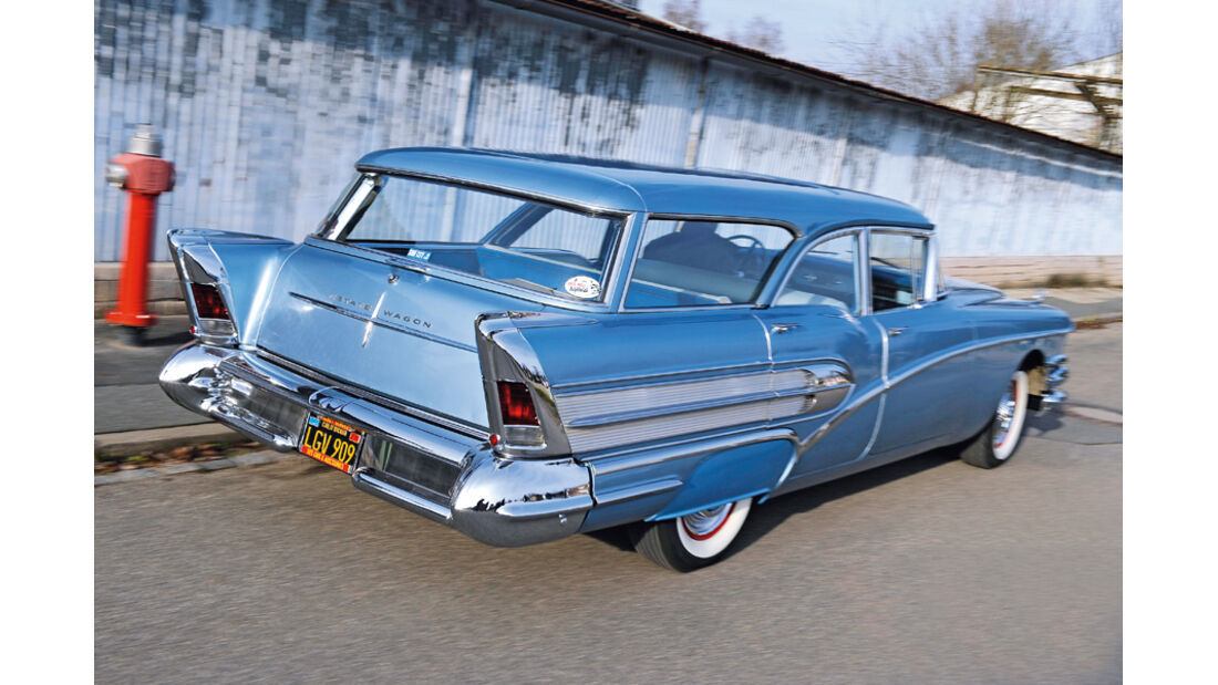 US-Cars, 58er Buick