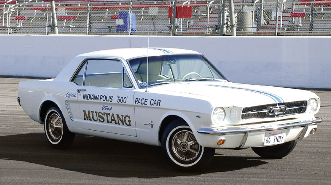US-Cars, Ford Mustang Indy 500 Pace Car Replica