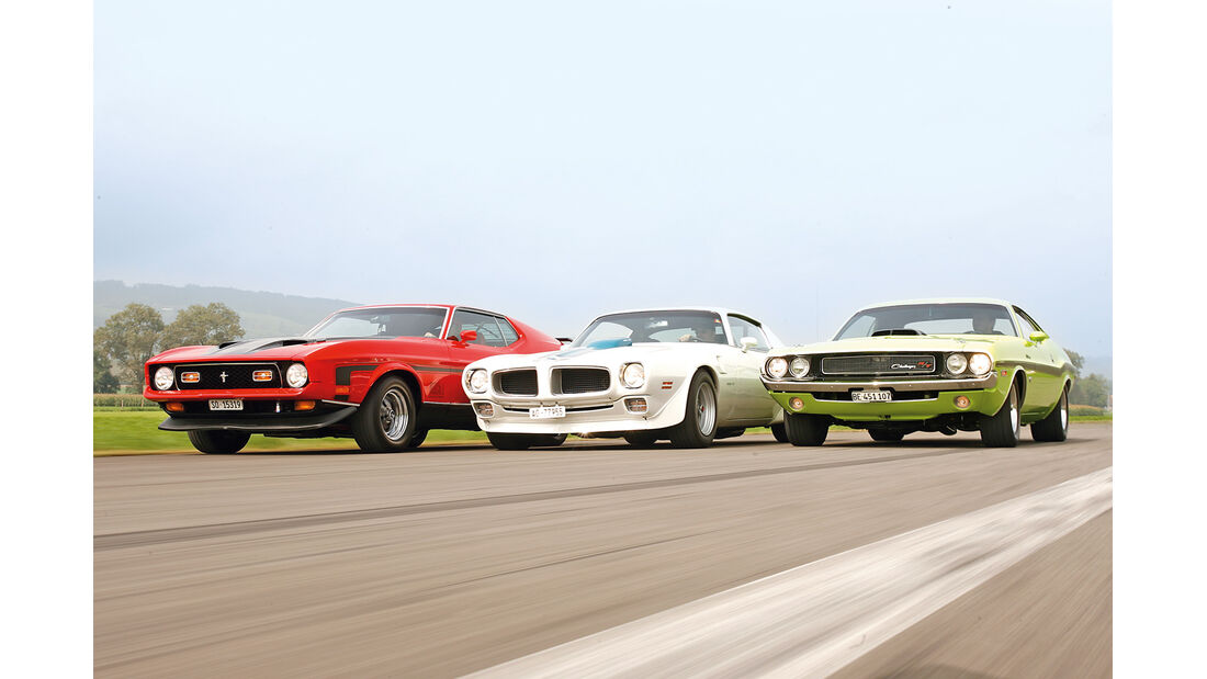 US-Muscle Cars in Heft 11/2006, Frontansicht