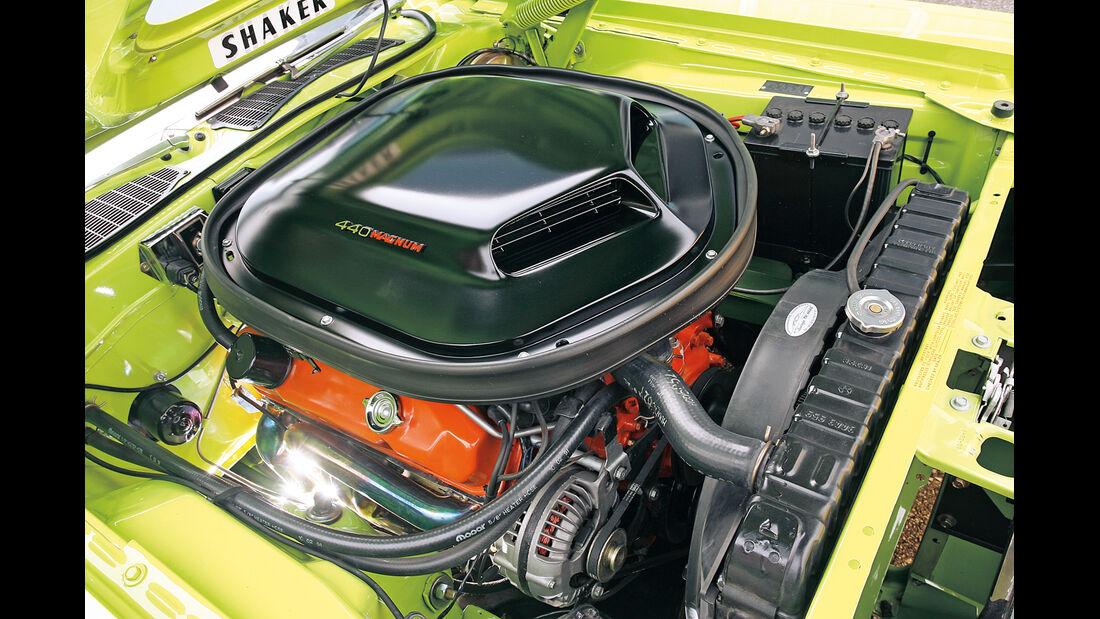 US-Muscle Cars in Heft 11/2006, Motor