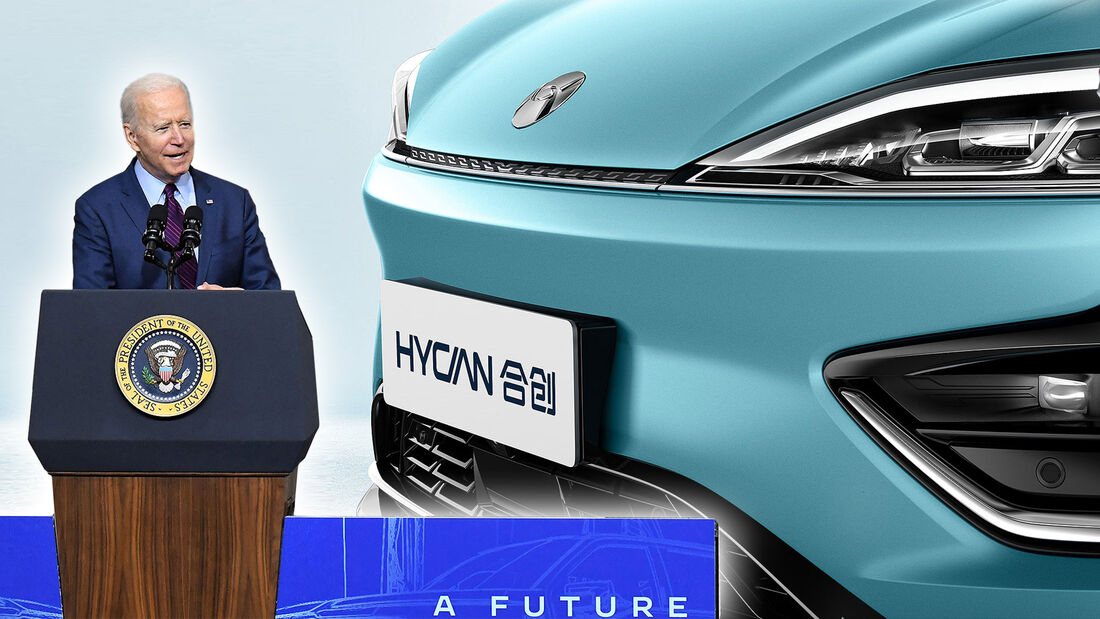 US Präsident Joe Biden China Elektromobilität