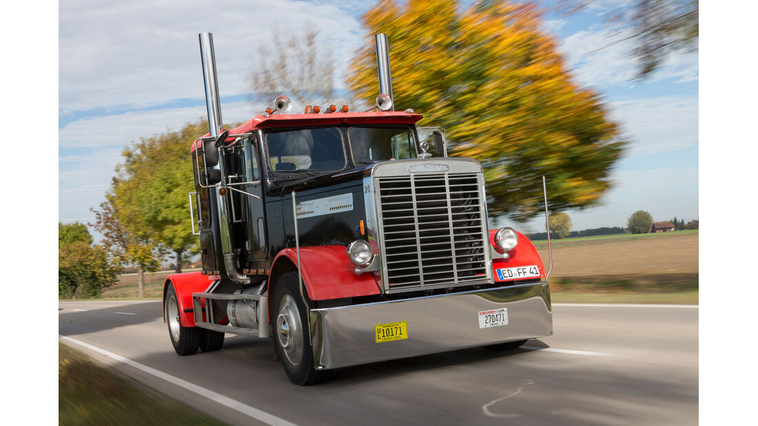 US-Truck, Frontansicht