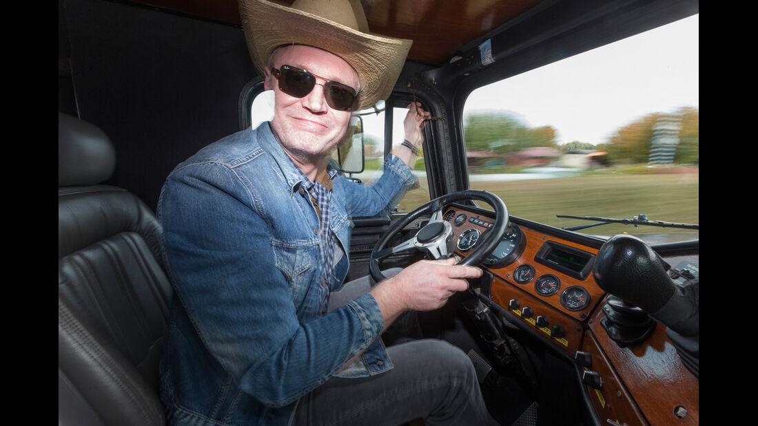 US-Truck, Henning Busse, Cockpit