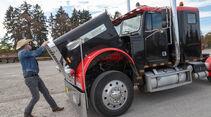 US-Truck, Henning Busse, Motorhaube