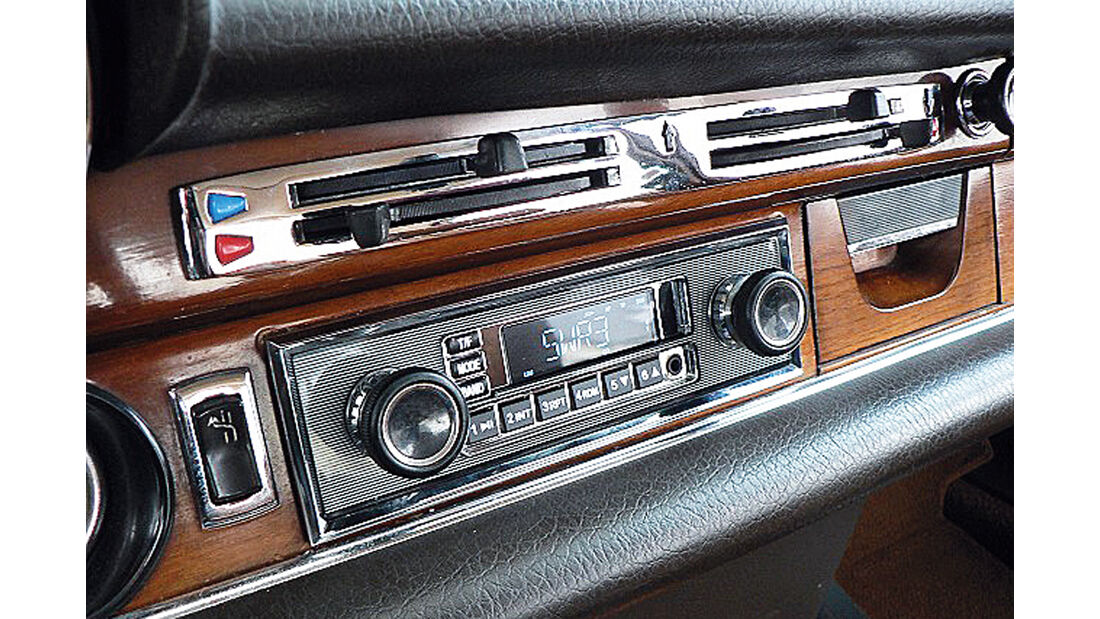 USB-Anschluss, Radio