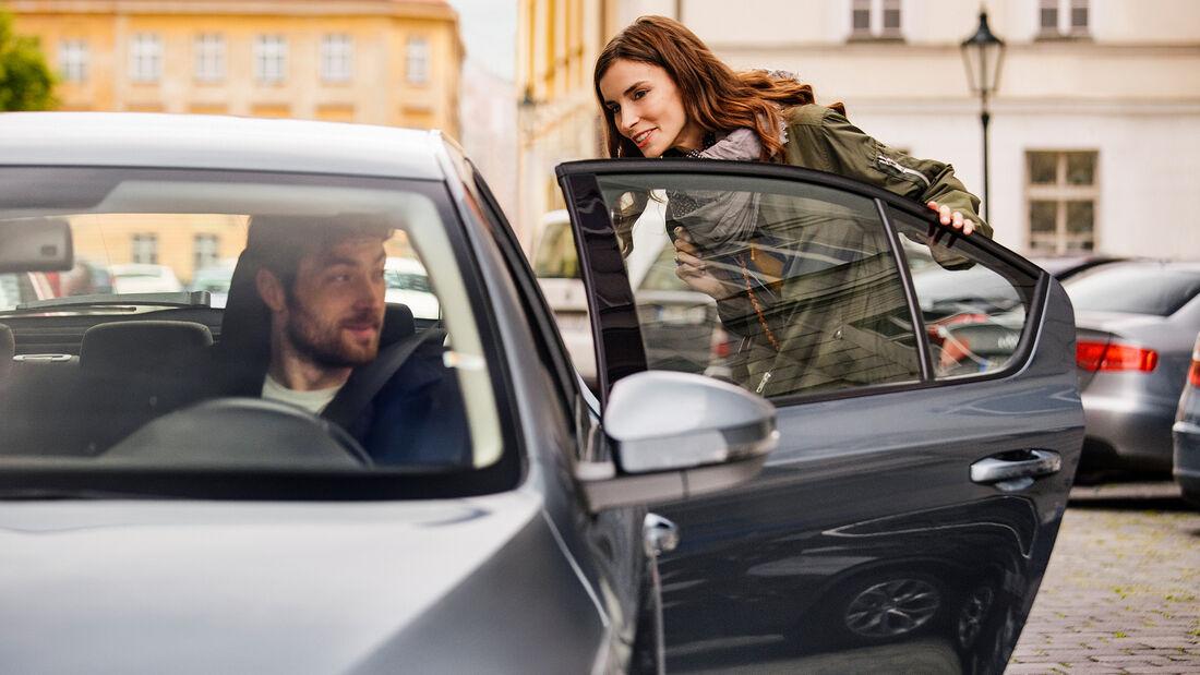 Uber Fahrgast