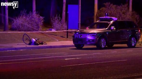 Uber Unfall in Tempe Arizona Volvo XC90