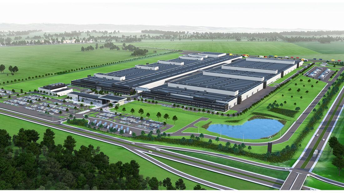 Über 1.000 Arbeitsplätze im neuen Motorenwerk in Jawor: Mercedes-Benz Cars feiert weiteren Fortschritt des neuen Hightech-Motorenwerks in Polen