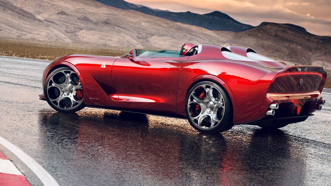 Ugur Sahin Design Alfa Romeo Barchetta Render 2020