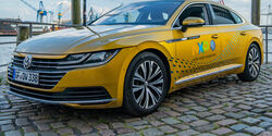 Ultra Wide Band UWB Technik VW Arteon Demontration