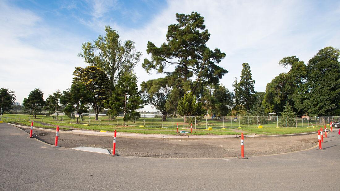 Umbau - Albert Park Circuit - GP Australien - 2021