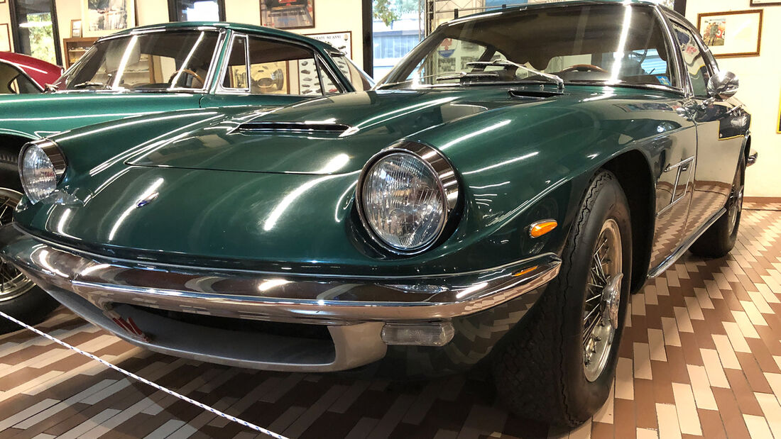Umberto Panini Maserati Sammlung