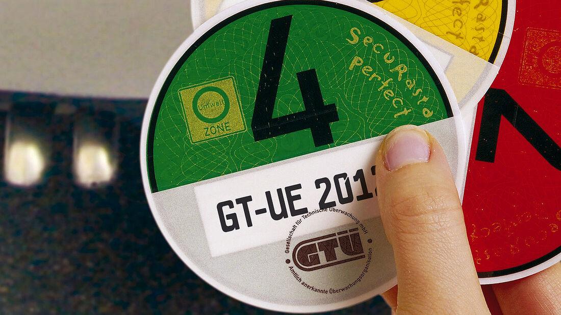 Umweltplakette Grüne Plakette