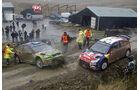 Unfall Hirvonen WRC Rallye GB 2008
