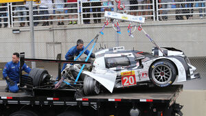 Unfall Mark Webber - WEC Interlagos 2014