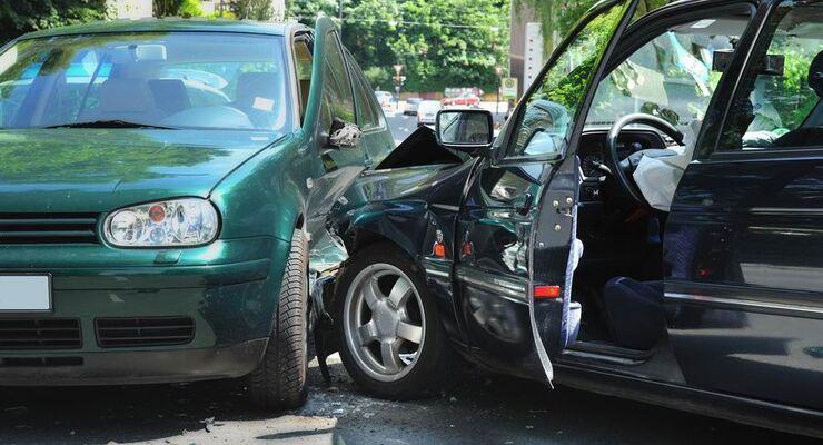 Unfall, Mietwagen