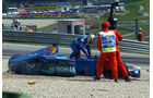 Unfall Takuma Sato & Nick Heidfeld - GP Österreich 2002